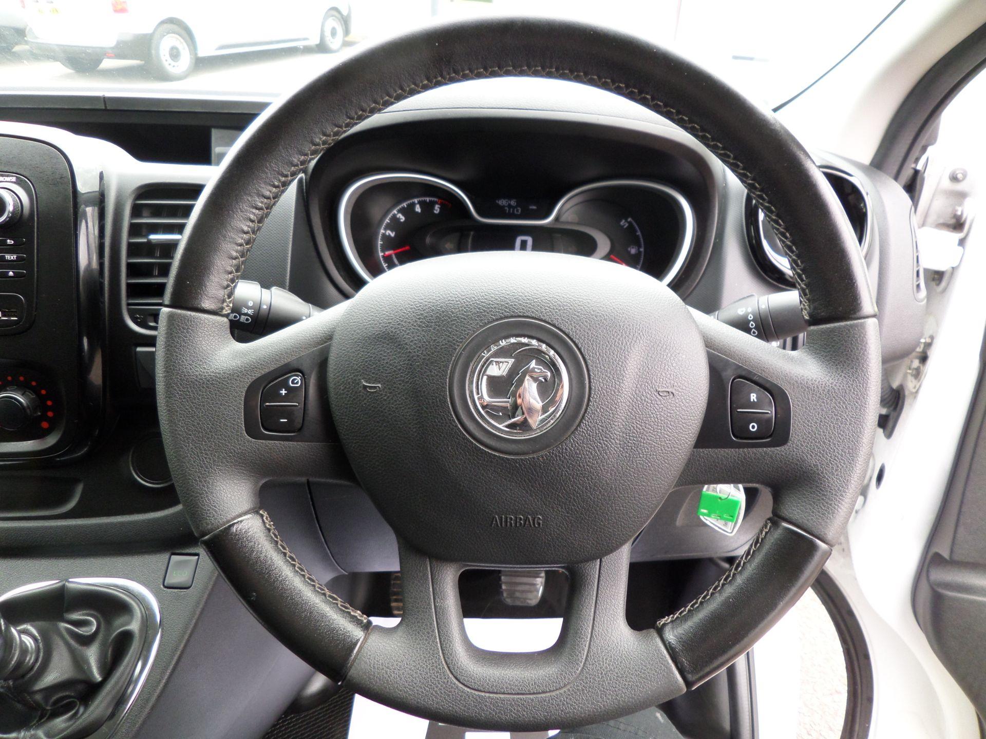 2017 Vauxhall Vivaro 2900 1.6Cdti 120Ps Sportive H1 Van Euro 6 (DS67BFE) Image 13