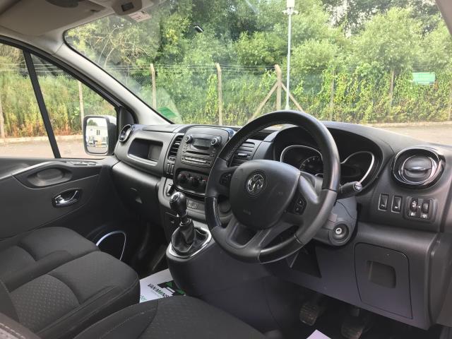 2017 Vauxhall Vivaro Vauxhall Vivaro 2900 1.6 Cdti 120Ps Sportive H1 Van (DS67BJV) Image 17
