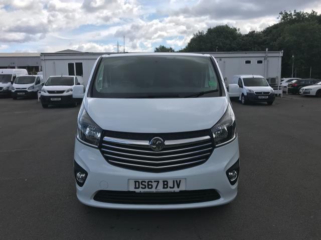 2017 Vauxhall Vivaro Vauxhall Vivaro 2900 1.6 Cdti 120Ps Sportive H1 Van (DS67BJV) Image 2