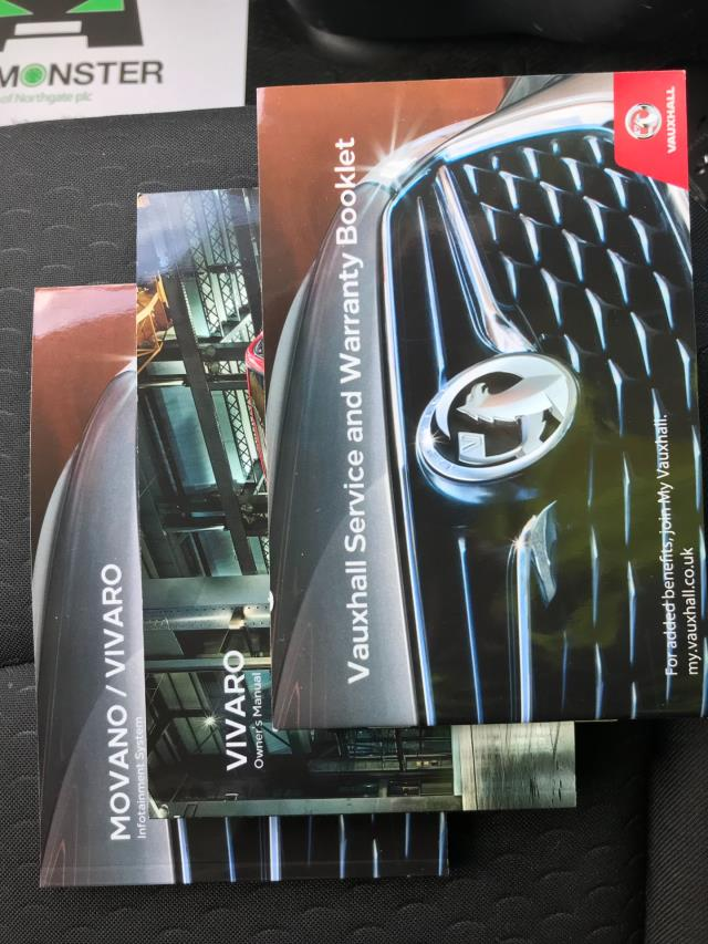 2017 Vauxhall Vivaro Vauxhall Vivaro 2900 1.6 Cdti 120Ps Sportive H1 Van (DS67BJV) Image 31