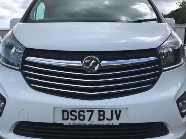 2017 Vauxhall Vivaro Vauxhall Vivaro 2900 1.6 Cdti 120Ps Sportive H1 Van (DS67BJV) Image 11