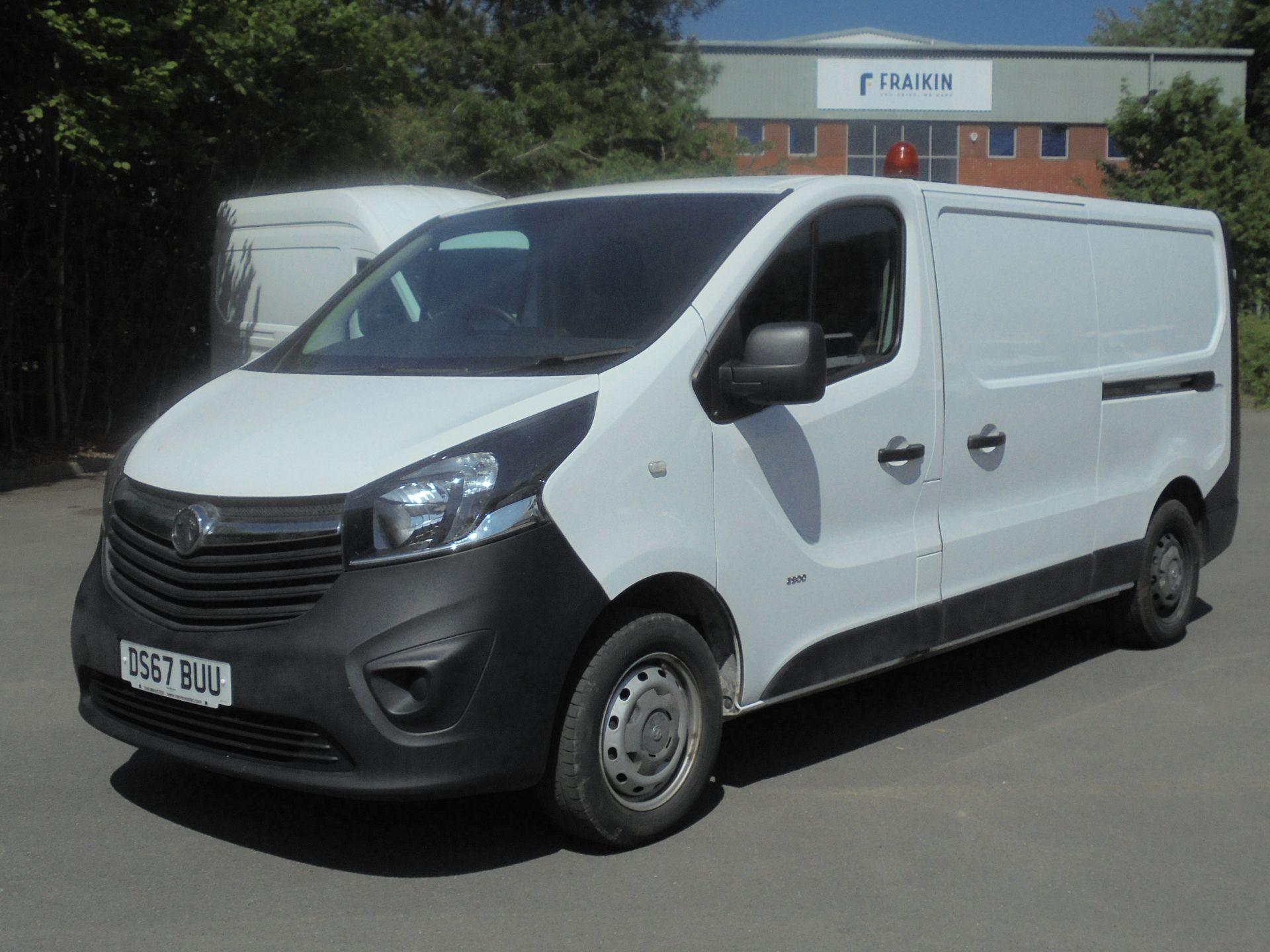 2017 Vauxhall Vivaro 2900 1.6Cdti 120Ps H1 Van (DS67BUU) Image 3