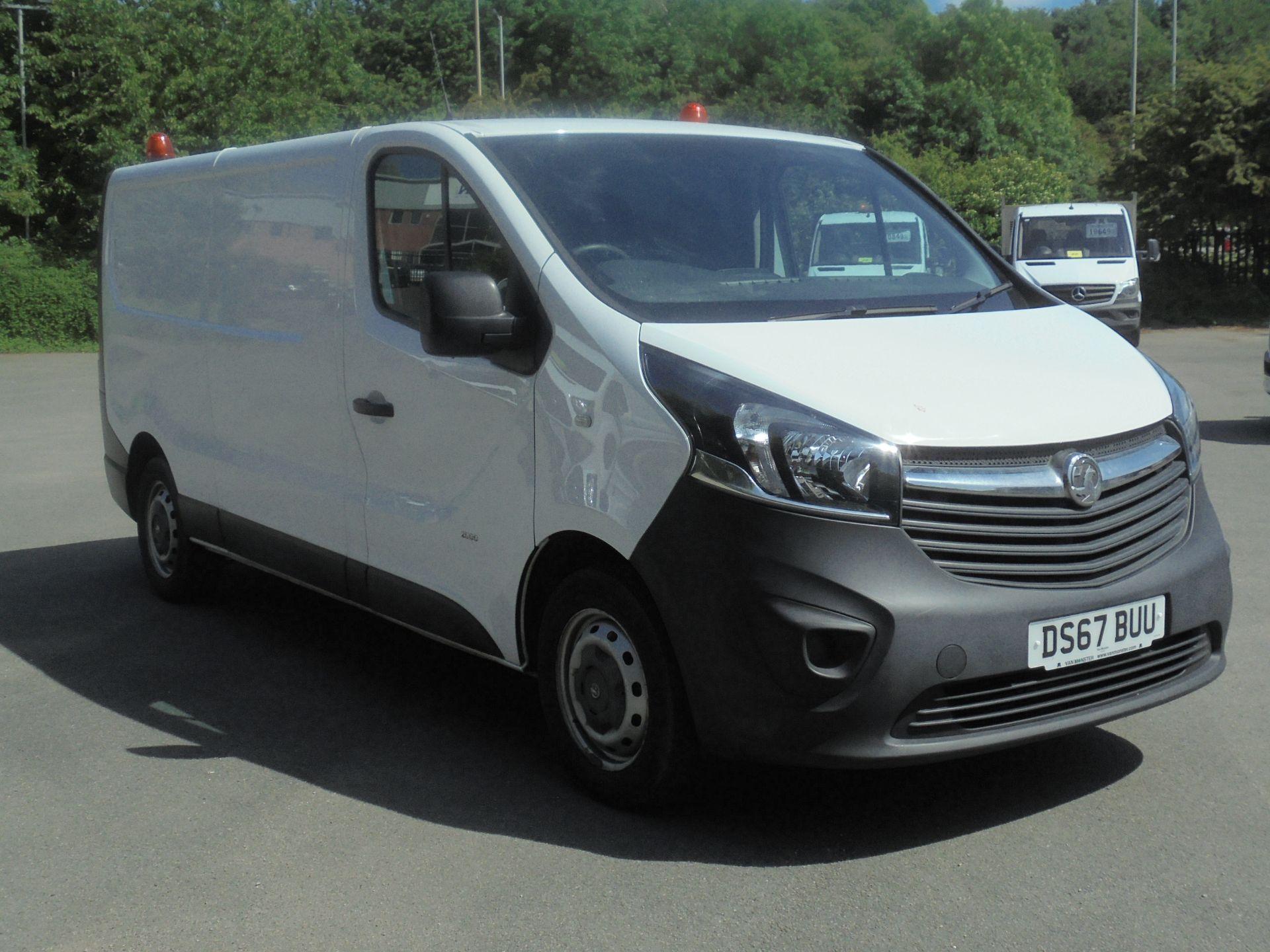 2017 Vauxhall Vivaro 2900 1.6Cdti 120Ps H1 Van (DS67BUU) Image 1