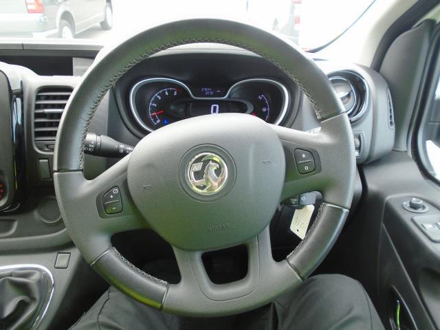 2017 Vauxhall Vivaro  L2 H1 2900 1.6 CDTI 120PS SPORTIVE EURO 6 (DS67BWB) Image 23