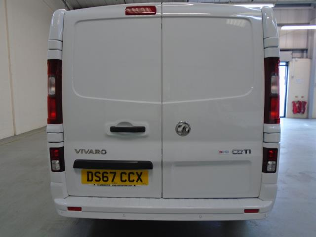 2017 Vauxhall Vivaro 2900 1.6Cdti 120Ps Sportive H1 Van (DS67CCX) Image 9