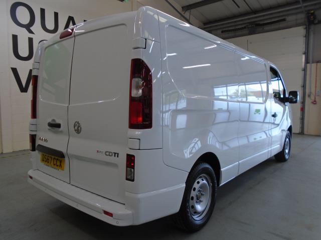 2017 Vauxhall Vivaro 2900 1.6Cdti 120Ps Sportive H1 Van (DS67CCX) Image 10