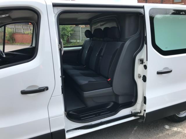 2017 Vauxhall Vivaro 2900 1.6Cdti 120Ps H1 Doublecab Euro 6 (DS67CFF) Image 28