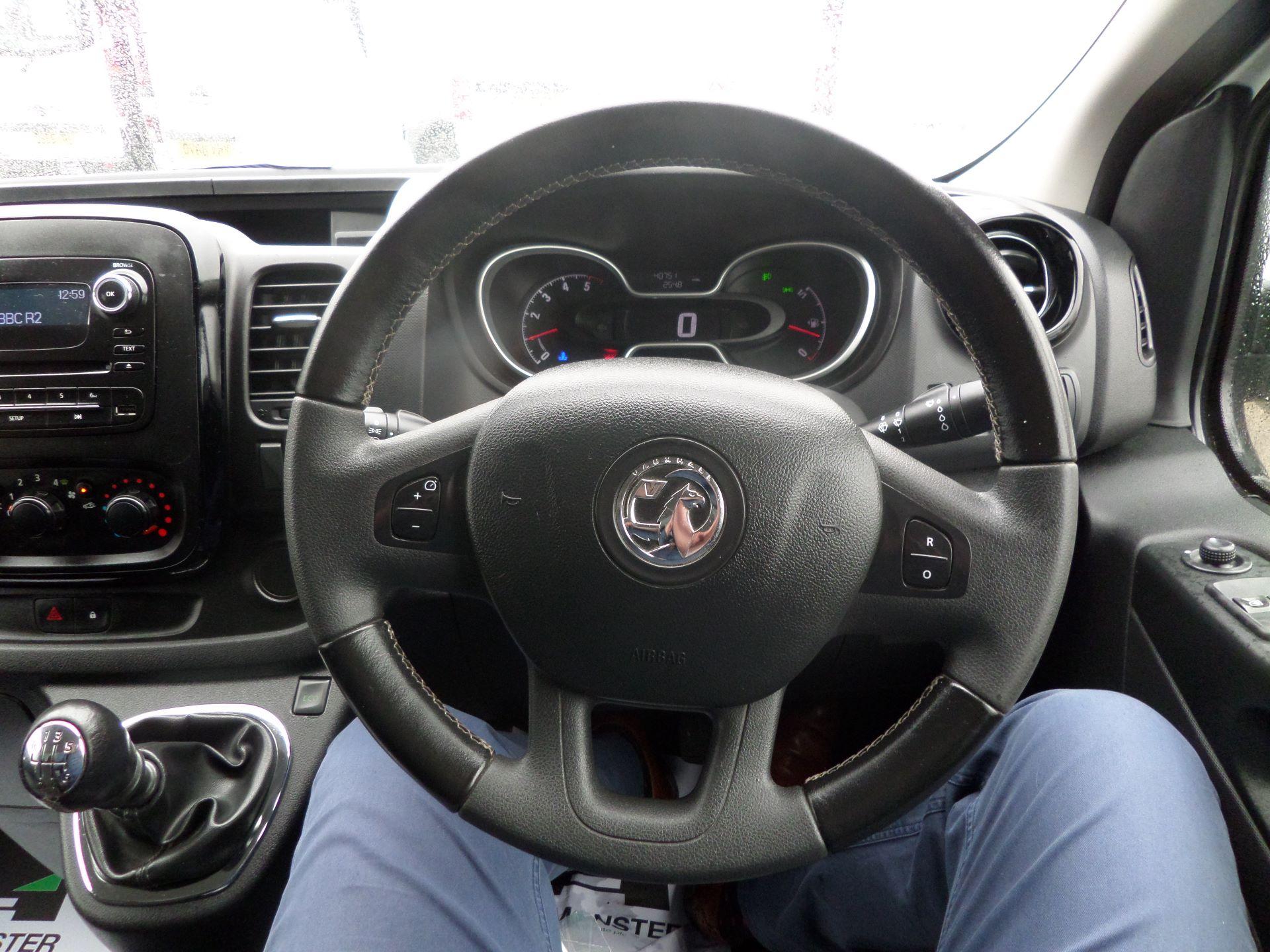 2017 Vauxhall Vivaro 2900 1.6Cdti 120Ps Sportive H1/L2 Van Euro 6 (DS67CFK) Image 17