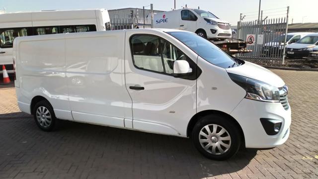 2017 Vauxhall Vivaro 2900 1.6Cdti 120Ps Sportive H1 Van (DS67CFM) Image 2