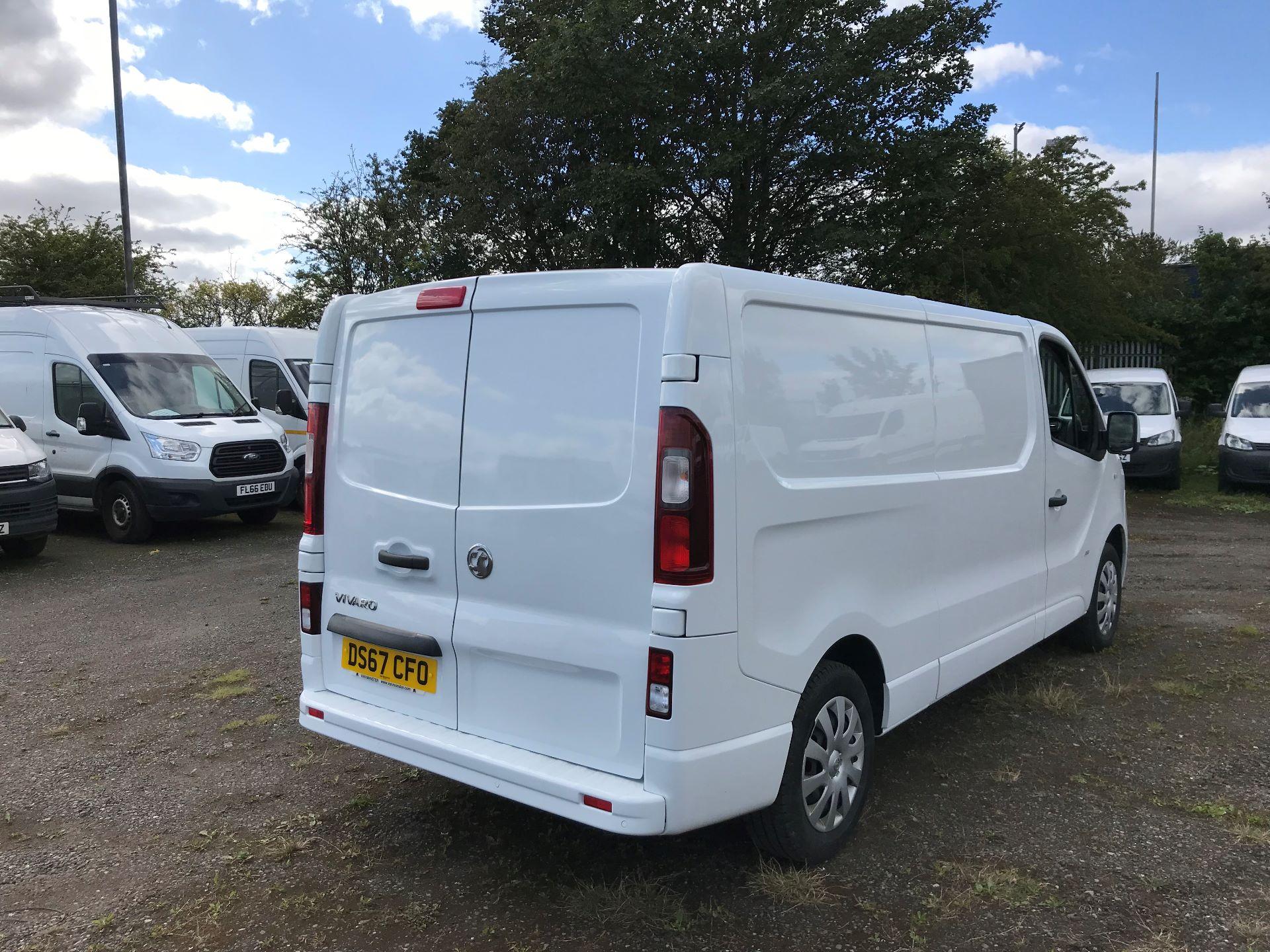 2017 Vauxhall Vivaro 2900 1.6Cdti 120Ps Sportive H1 Van (DS67CFO) Image 7