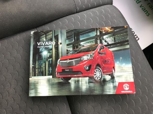 2017 Vauxhall Vivaro 2900 L2 H1 1.6CDTI 120PS SPORTIVE EURO 6 (DS67CJV) Image 26