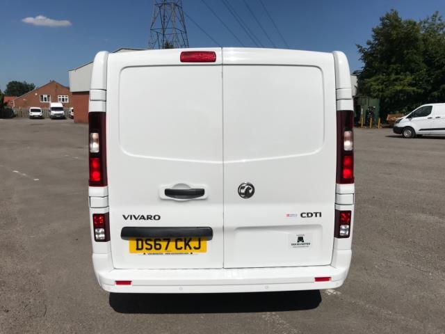2017 Vauxhall Vivaro 2900 1.6Cdti 120Ps Sportive H1 Van Euro 6 (DS67CKJ) Image 6