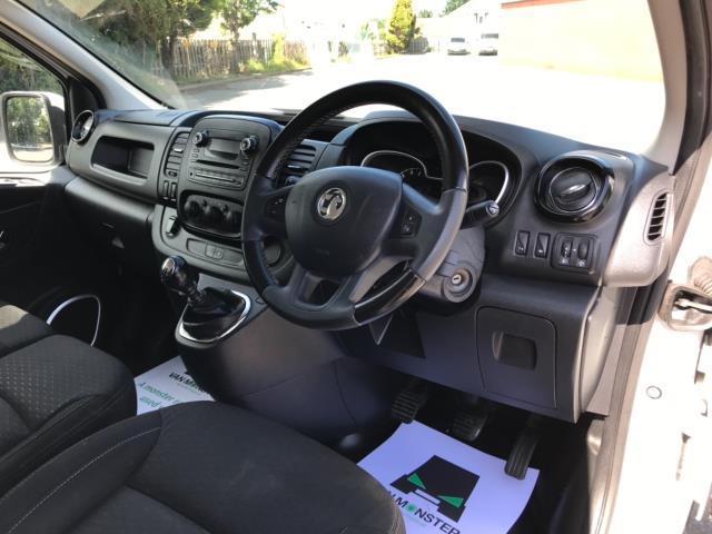 2017 Vauxhall Vivaro 2900 1.6Cdti 120Ps Sportive H1 Van Euro 6 (DS67CKJ) Image 11