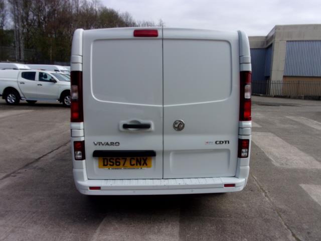 2017 Vauxhall Vivaro 2900 1.6Cdti 120Ps Sportive L2 H1 Van (DS67CNX) Image 12