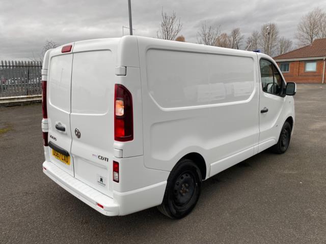 2017 Vauxhall Vivaro 2700 1.6Cdti 120Ps Sportive H1 Van (DS67CXO) Image 7