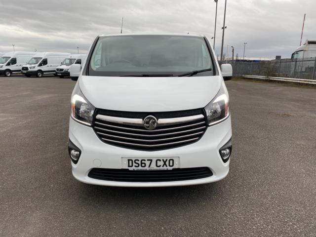 2017 Vauxhall Vivaro 2700 1.6Cdti 120Ps Sportive H1 Van (DS67CXO) Image 2