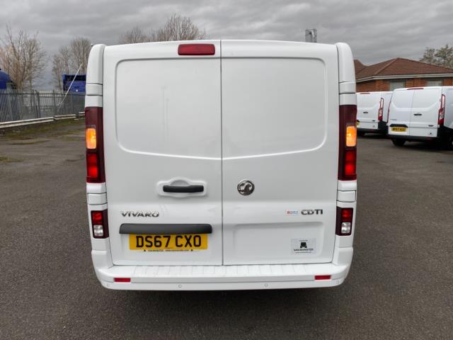 2017 Vauxhall Vivaro 2700 1.6Cdti 120Ps Sportive H1 Van (DS67CXO) Image 6