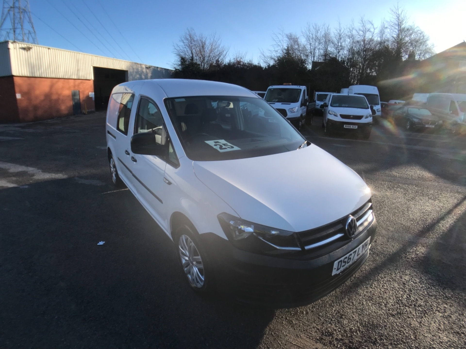 2017 Volkswagen Caddy  2.0 102PS KOMBI EURO 6 (DS67LYH)