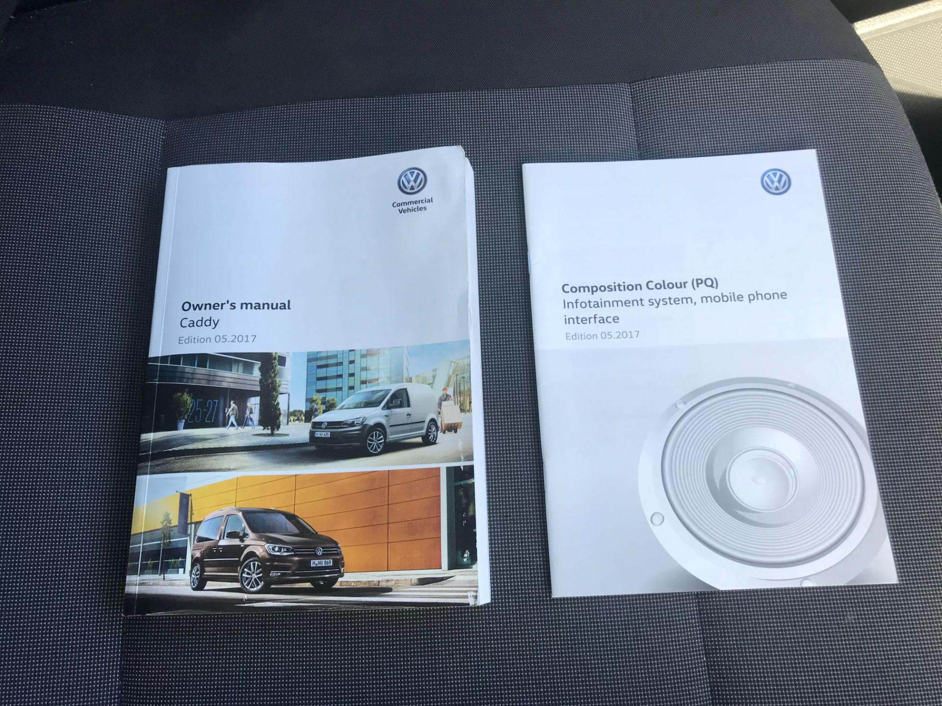 2017 Volkswagen Caddy Maxi  2.0 102PS KOMBI EURO 6 (DS67MUE) Image 39