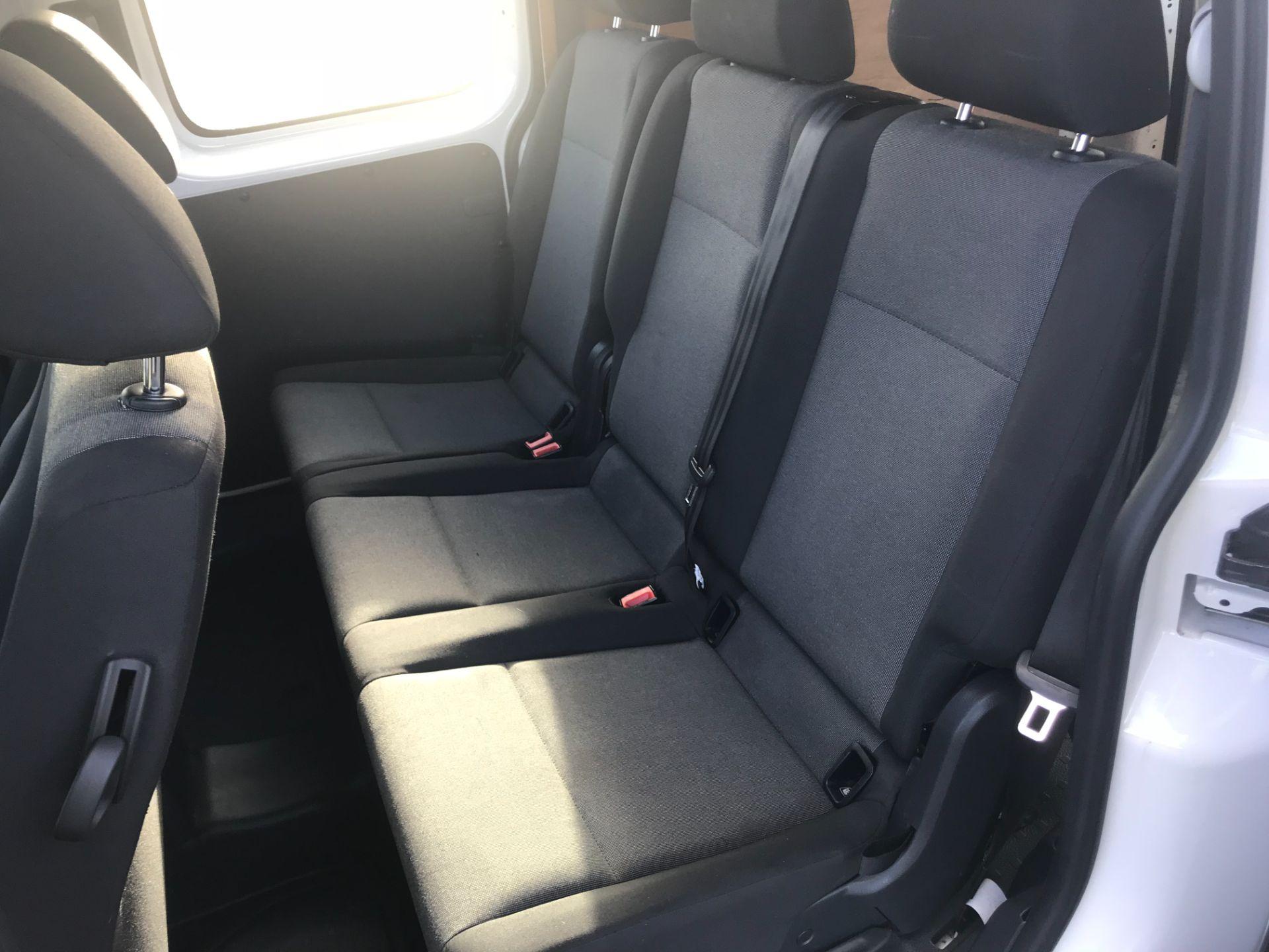 2017 Volkswagen Caddy Maxi  2.0 102PS KOMBI EURO 6 (DS67MUE) Image 12