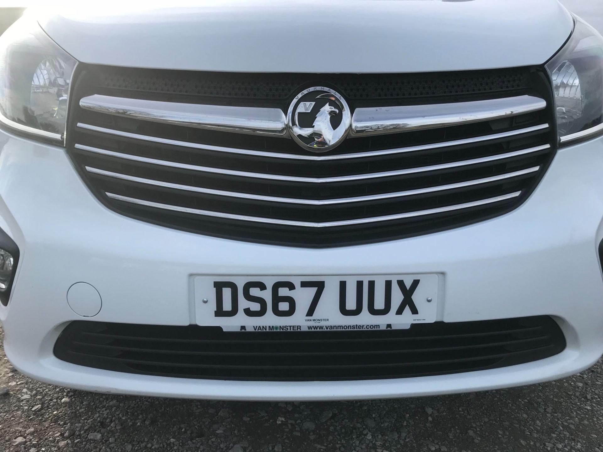 2017 Vauxhall Vivaro L2 H1 2900 1.6CDTI 120PS SPORTIVE EURO 6 (DS67UUX) Image 34
