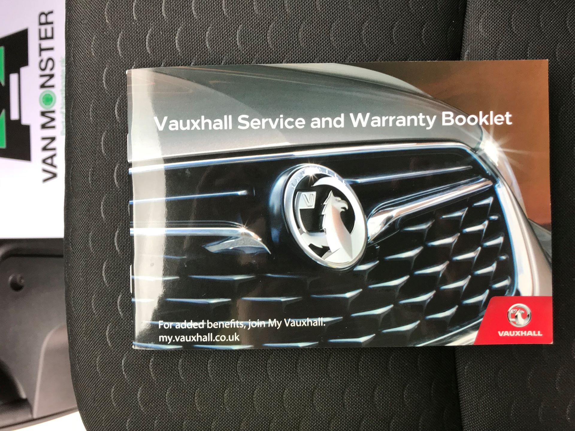 2018 Vauxhall Vivaro L2 H1 2900 1.6CDTI 120PS SPORTIVE EURO 6 (DS68FTU) Image 40
