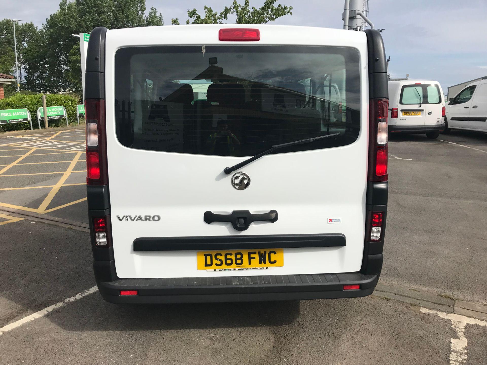 2018 Vauxhall Vivaro 2900 1.6Cdti 120Ps H1 Combi 9 Seat (DS68FWC) Image 6