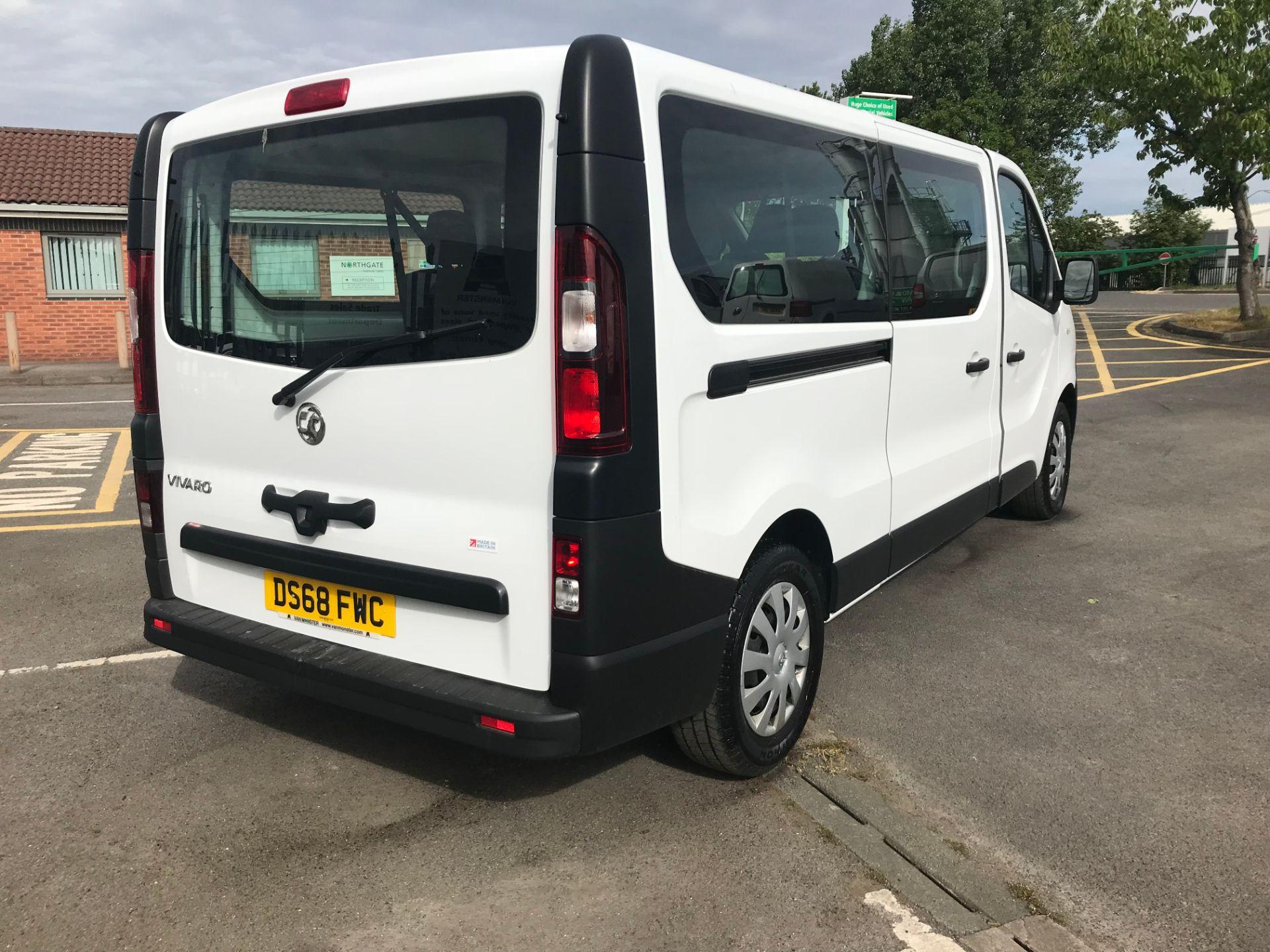 2018 Vauxhall Vivaro 2900 1.6Cdti 120Ps H1 Combi 9 Seat (DS68FWC) Image 7