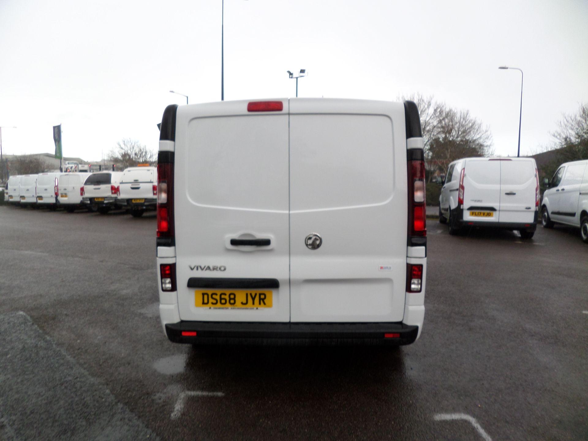 2018 Vauxhall Vivaro 2900 1.6Cdti 120Ps Sportive H1 Van Euro 6 (DS68JYR) Image 3