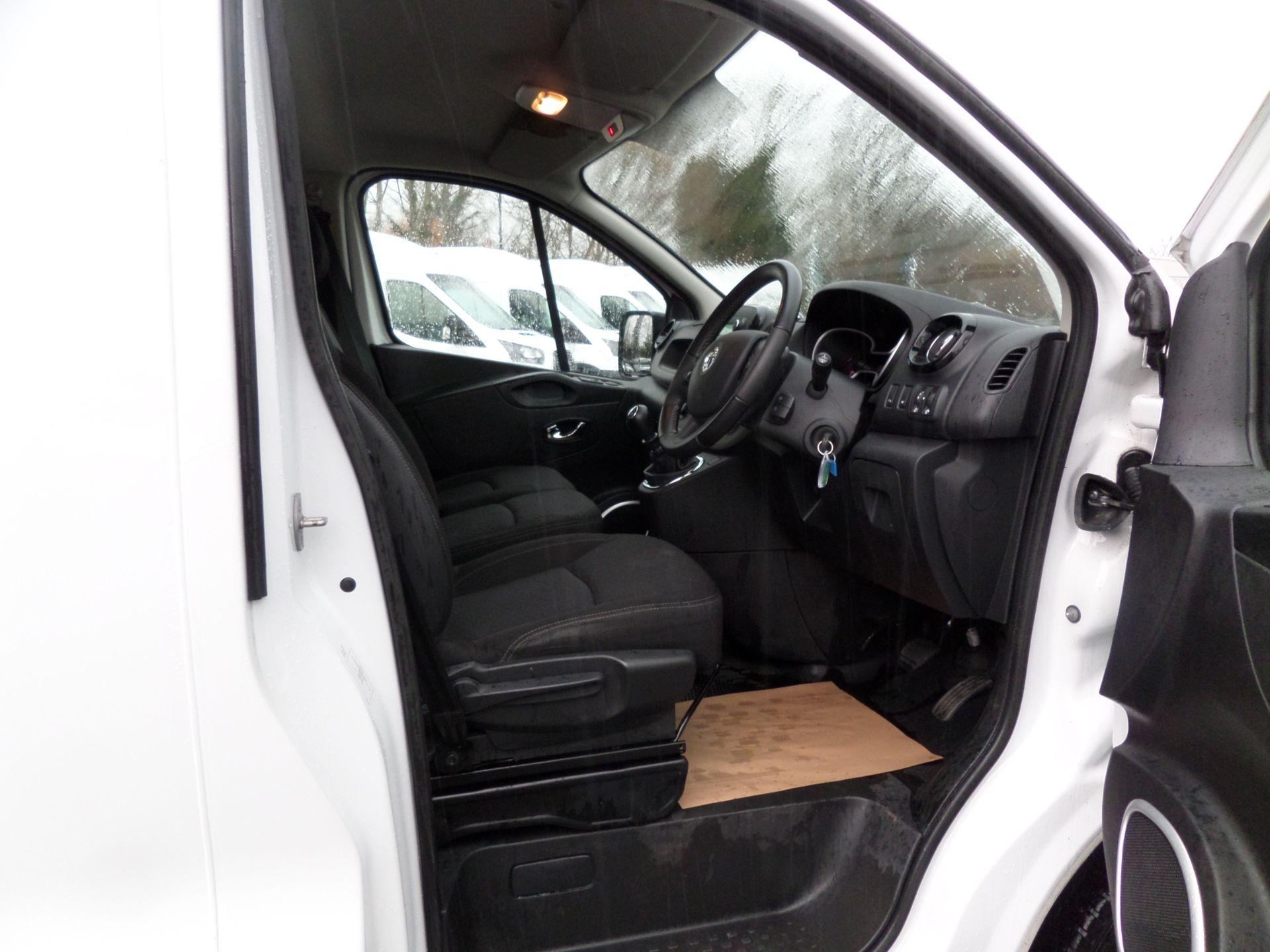 2018 Vauxhall Vivaro 2900 1.6Cdti 120Ps Sportive H1 Van Euro 6 (DS68JYR) Image 11