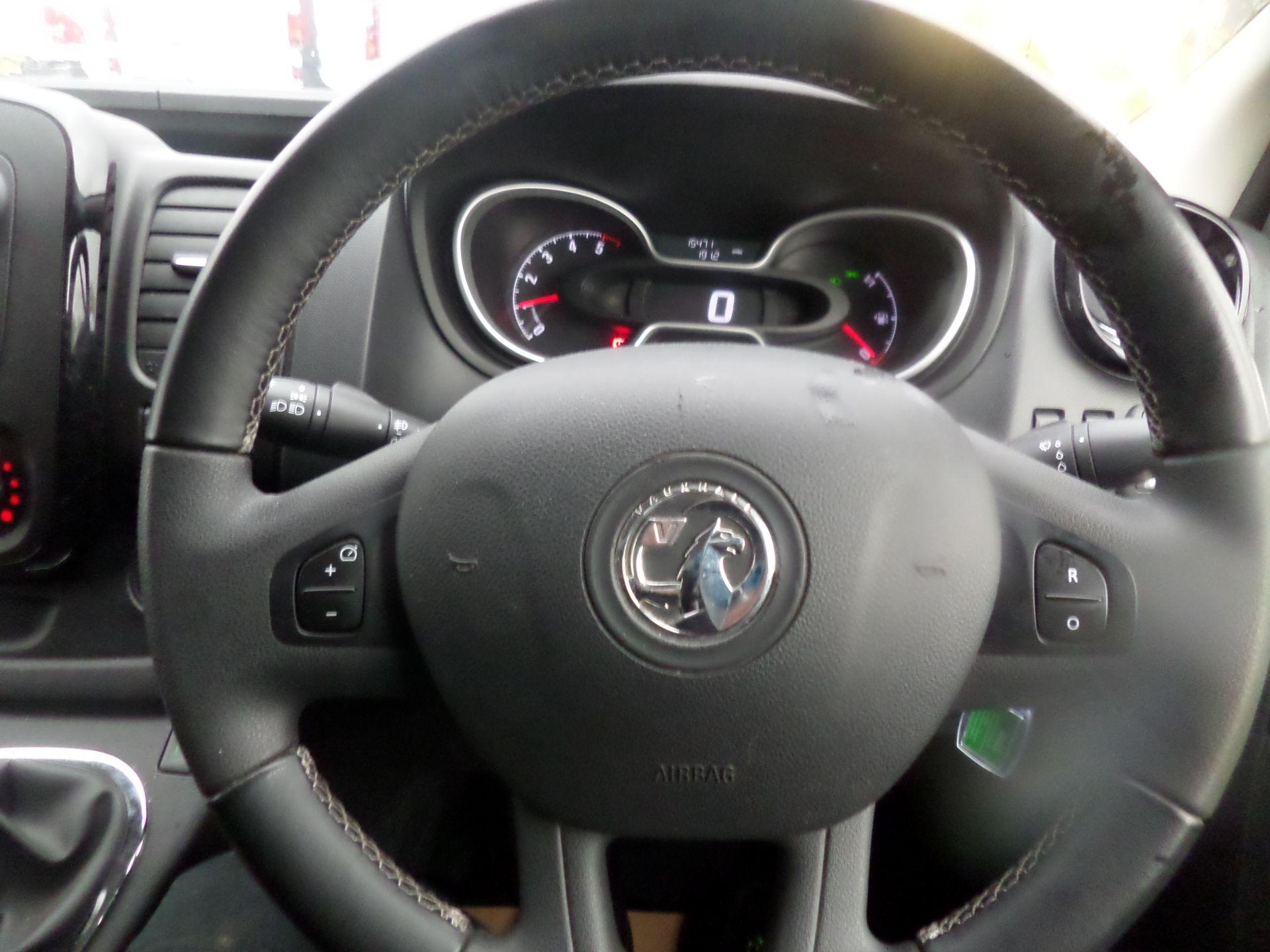 2018 Vauxhall Vivaro 2900 1.6Cdti 120Ps Sportive H1 Van Euro 6 (DS68JYR) Image 14