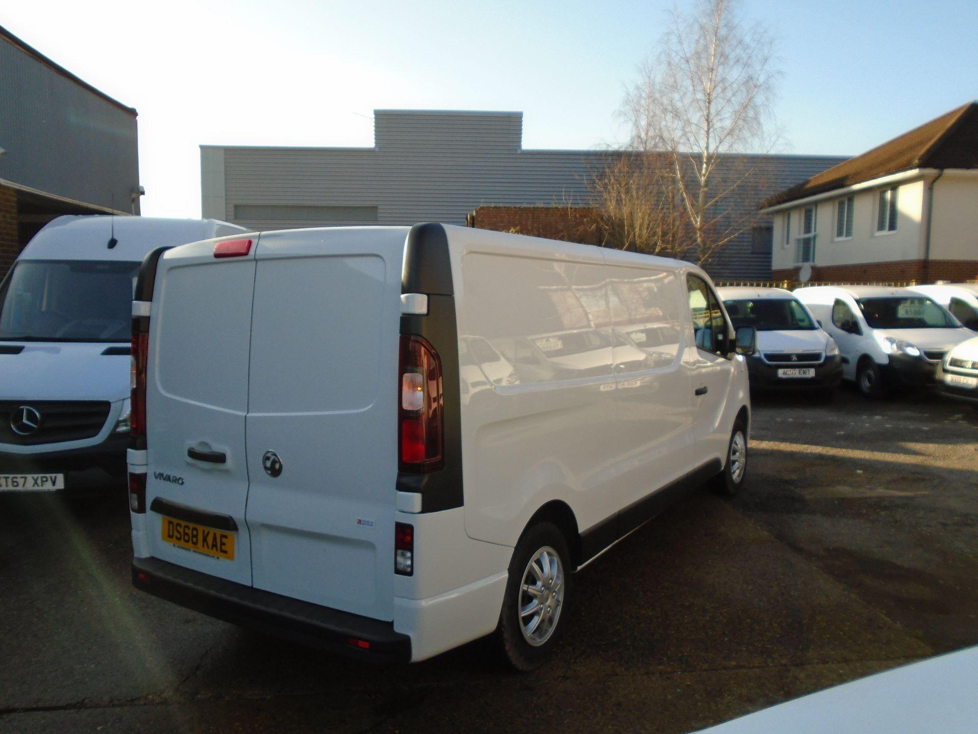 2018 Vauxhall Vivaro 2900 1.6Cdti 120Ps Sportive H1 Van( EURO 6) (DS68KAE) Image 4