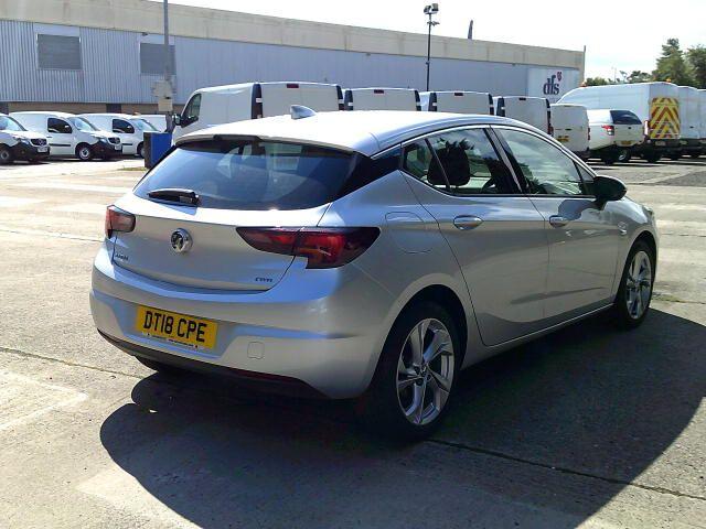 2018 Vauxhall Astra 1.6 Cdti 16V 136 Sri Nav 5Dr (DT18CPE) Image 12