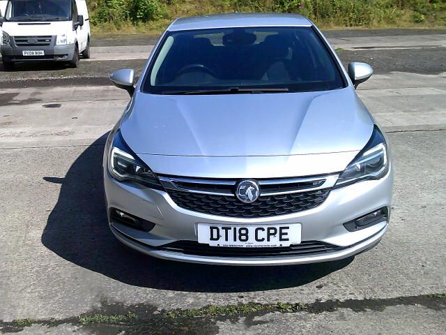2018 Vauxhall Astra 1.6 Cdti 16V 136 Sri Nav 5Dr (DT18CPE) Image 18