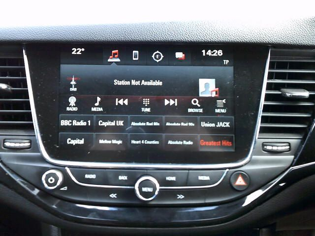 2018 Vauxhall Astra 1.6 Cdti 16V 136 Sri Nav 5Dr (DT18CPN) Image 3