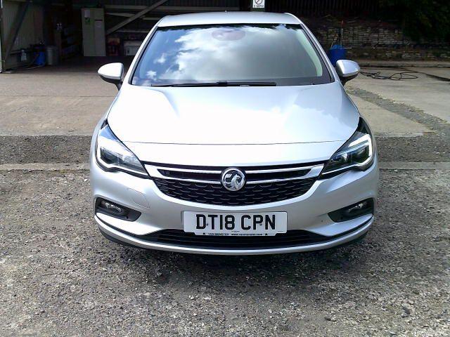 2018 Vauxhall Astra 1.6 Cdti 16V 136 Sri Nav 5Dr (DT18CPN) Image 17