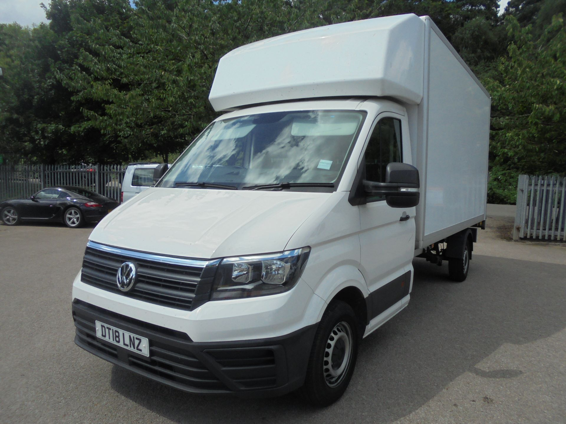 2018 Volkswagen Crafter 2.0 Tdi 140Ps Startline Chassis Cab (DT18LNZ) Thumbnail 2