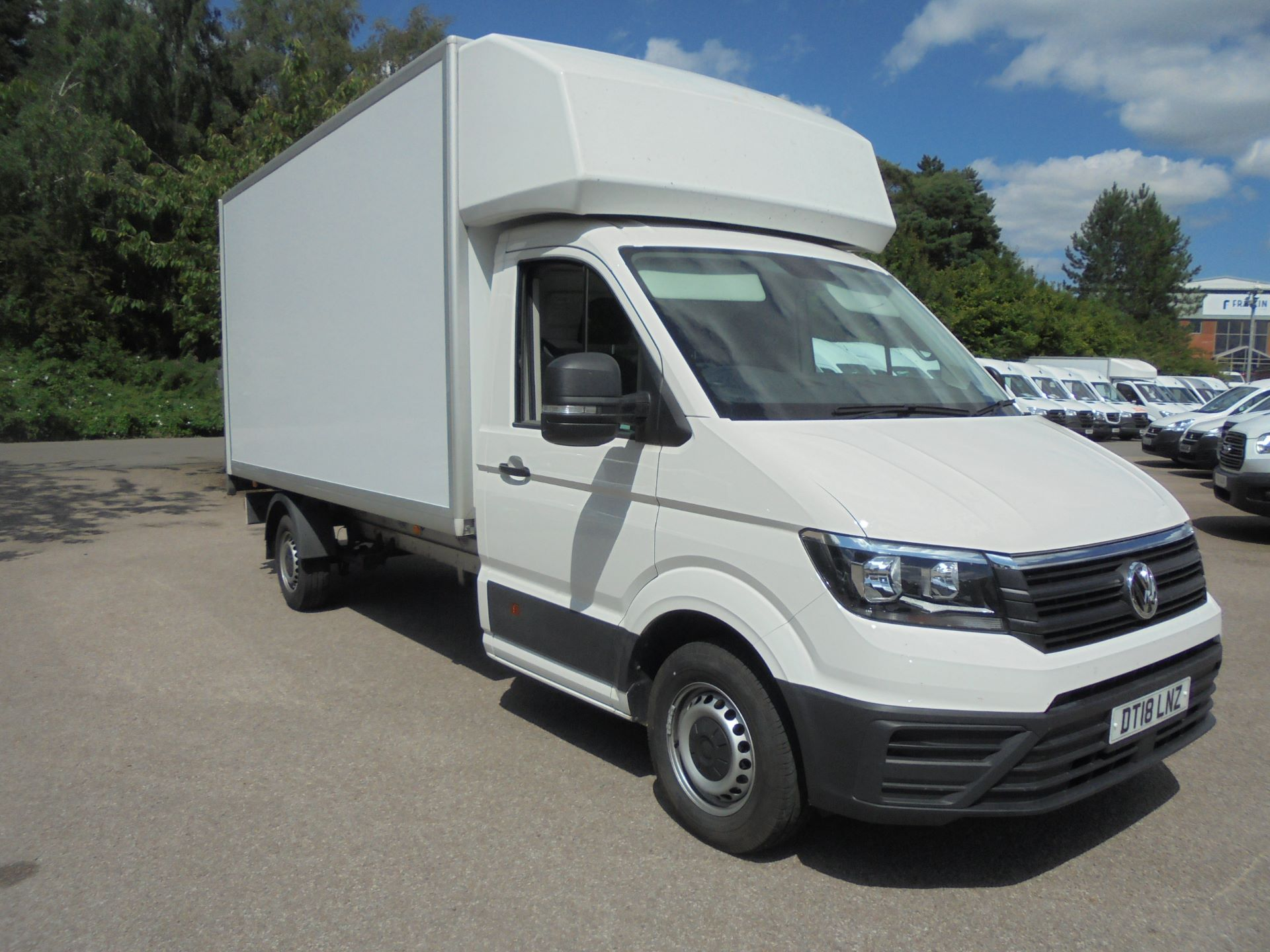 2018 Volkswagen Crafter 2.0 Tdi 140Ps Startline Chassis Cab (DT18LNZ) Thumbnail 1