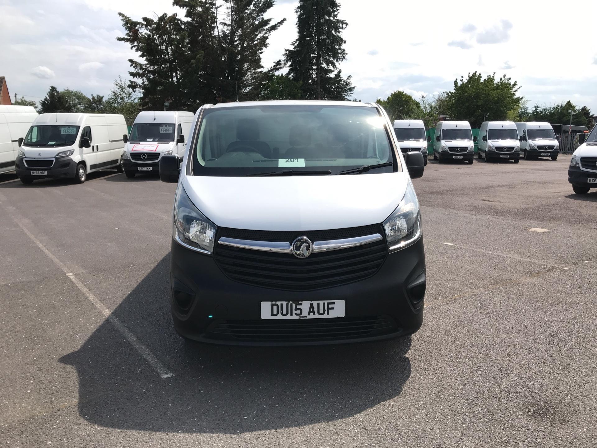2015 Vauxhall Vivaro  L2 H1 2900 1.6 115PS EURO 5 - NO VAT (DU15AUF) Image 8