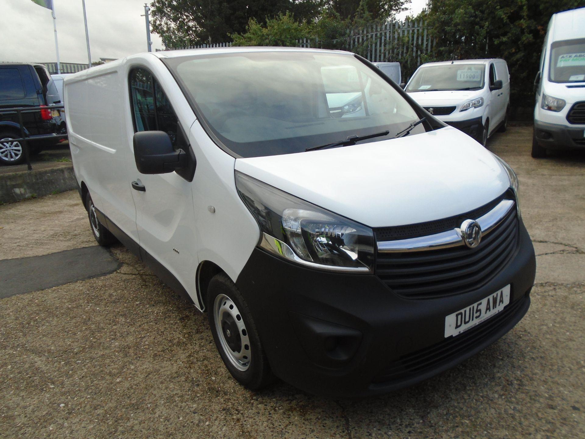 2015 Vauxhall Vivaro 2900 1.6Cdti 115Ps H1 Van (DU15AWA)