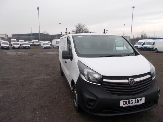 2015 Vauxhall Vivaro 2900 1.6Cdti 115Ps H1 Van (DU15AWY)