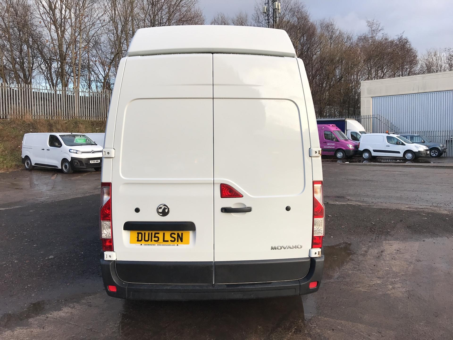 2015 Vauxhall Movano 35 L2 H3 2.3 TDCI 125PS EURO 5 (DU15LSN) Image 4