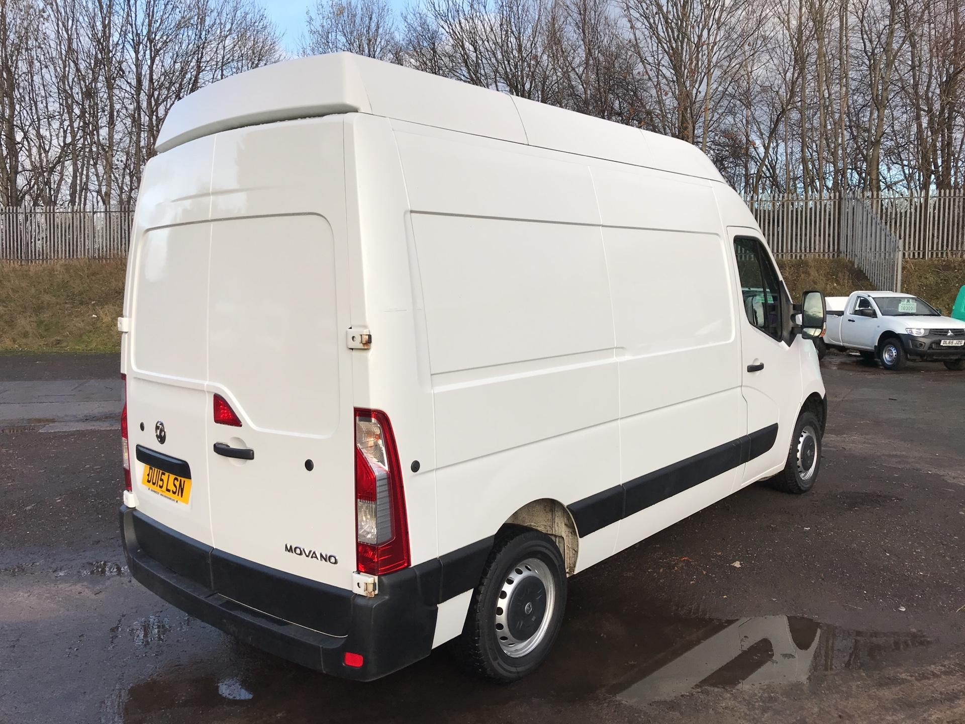 2015 Vauxhall Movano 35 L2 H3 2.3 TDCI 125PS EURO 5 (DU15LSN) Image 3