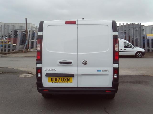 2017 Vauxhall Vivaro 2900 L2 H1 1.6CDTI 120PS EURO 6 (DU17UXM) Image 16