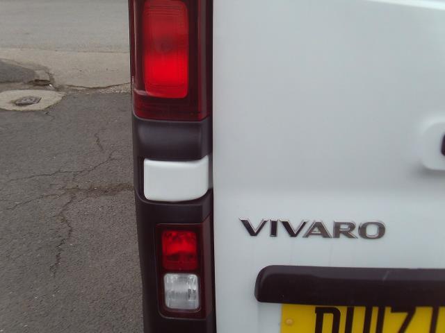 2017 Vauxhall Vivaro 2900 L2 H1 1.6CDTI 120PS EURO 6 (DU17UXM) Image 26