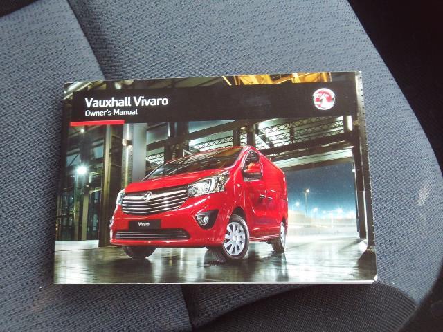 2017 Vauxhall Vivaro 2900 L2 H1 1.6CDTI 120PS EURO 6 (DU17UXM) Image 23