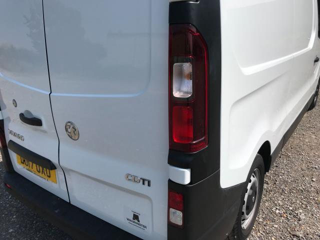 2017 Vauxhall Vivaro L2 H1 2900 1.6CDTI 120PS EURO 6 *Restricted to 68 MPH* (DU17UXO) Image 17