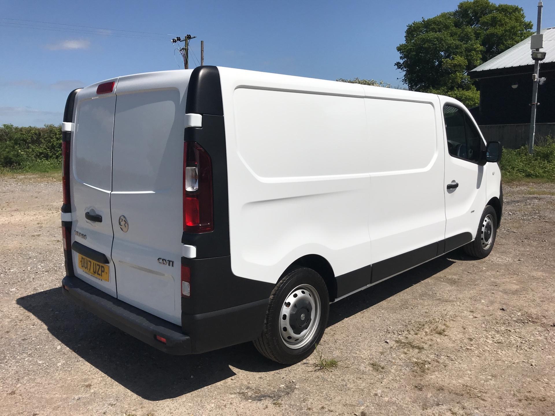 2017 Vauxhall Vivaro 2900 1.6Cdti 120Ps H1 Van (DU17UZP) Image 3