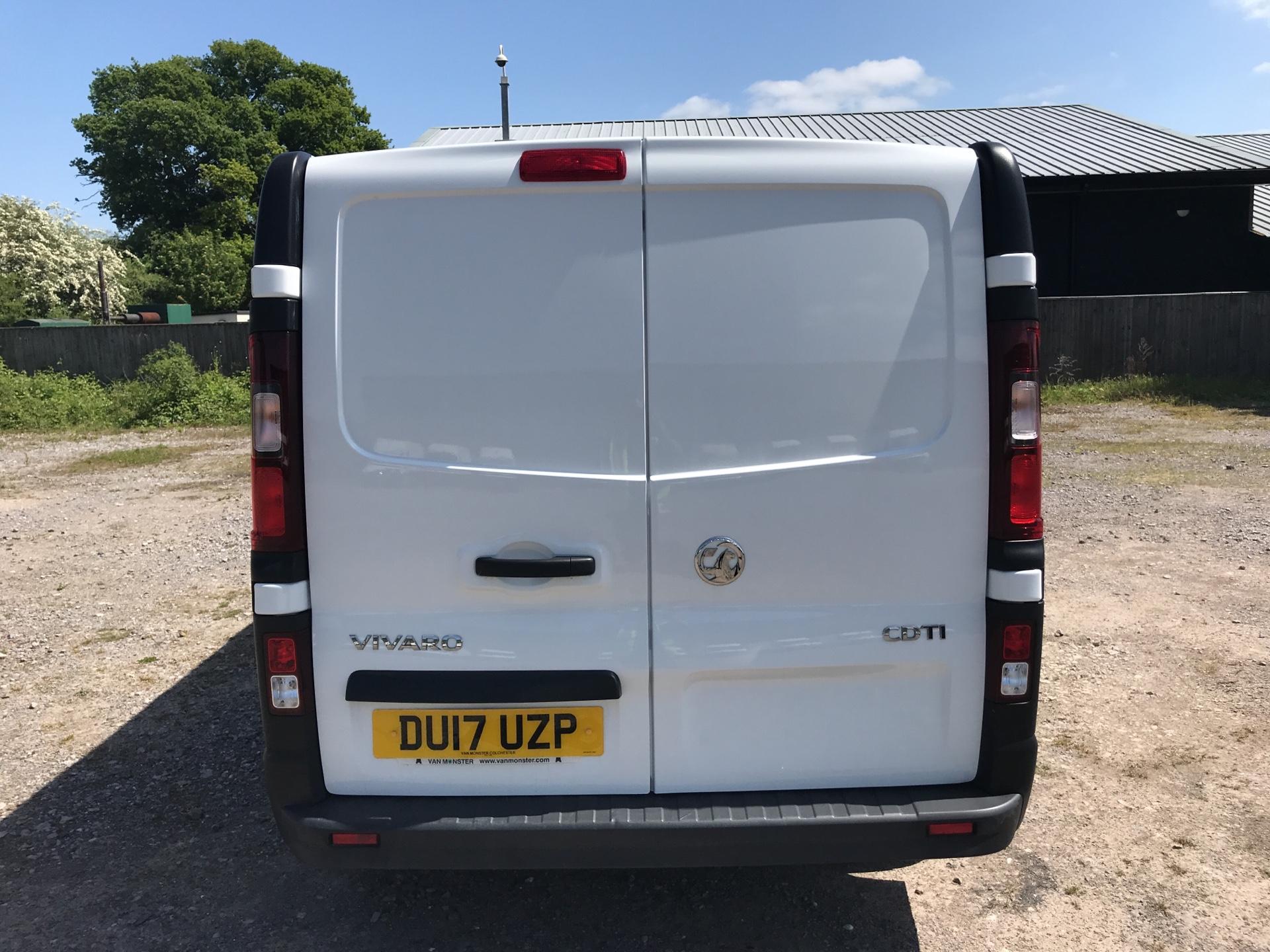 2017 Vauxhall Vivaro 2900 1.6Cdti 120Ps H1 Van (DU17UZP) Image 4
