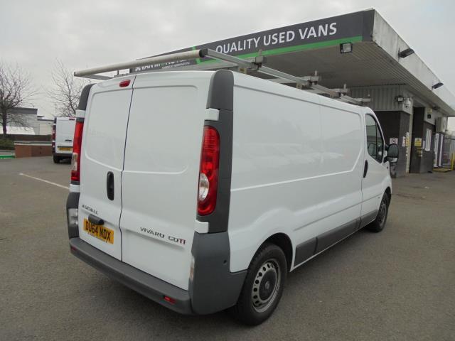 2014 Vauxhall Vivaro  LWB 2.0 115PS 2.9T EURO 5 *VALUE RANGE VEHICLE - CONDITION REFLECTED IN PRICE* (DU64NDX) Image 3